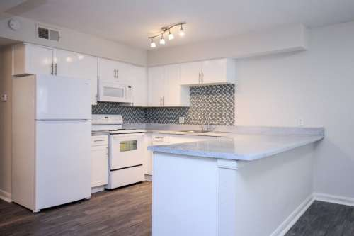 Stylish new cabinetry and countertops